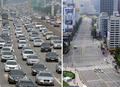 '고속도로는 몸살...도심은 텅텅'