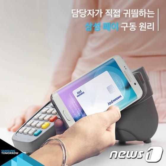 """[카드뉴스]삼성페이 출시…""""지갑없는 세상 열리나?"""""""