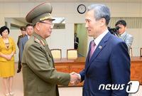 北지뢰폭발 유감표명·南 확성기방송 중단