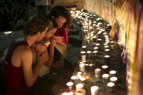 이스라엘 젊은이들도 촛불집회