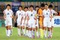 北 여자 축구 '중국에 역전승, 지친다'