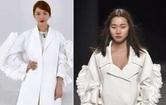 윤은혜 표절 논란, '날개 레이스' 옷 비교해보니…