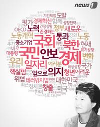 """국민 38회 언급한 朴대통령…""""머리 좋아 기억"""" 농담도"""