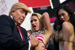 트럼프 닮은 꼴의 성희롱