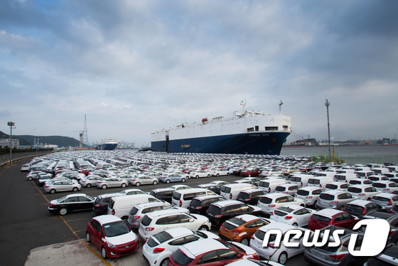 현대차, 수출 40주년 '2363만대' 누적수출 달성