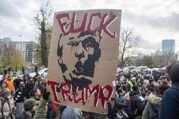 끊이지않는 트럼프 반대