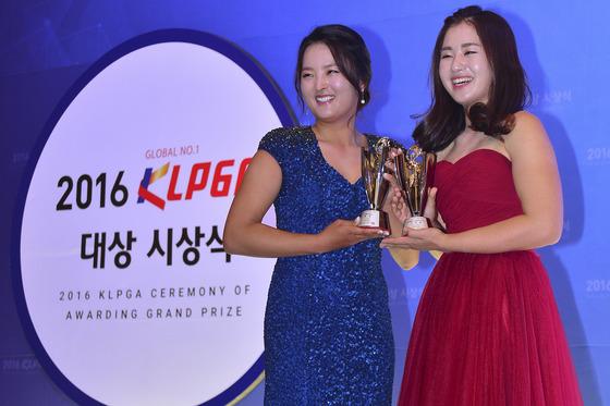 KLPGA 시상식 '대상 고진영, 신인상 이진영'