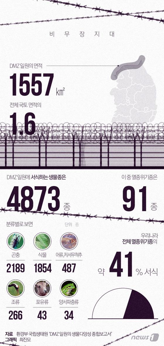 멸종위기종 천국 DMZ