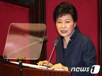 朴대통령, '폭주' 김정은 정권 겨냥한 새 대북관과 정책 선언