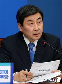 """더민주 """"필리버스터 유지…수정협상 물밑접촉 병행"""""""