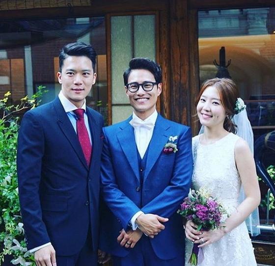 하석진, 신다은♥임성빈 결혼식 사회까지 본 사이?