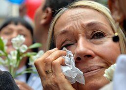 """""""이젠 평화가…"""" 콜롬비아의 눈물"""
