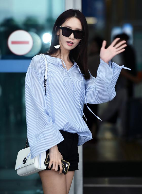 윤아, '팬미팅 잘 다녀올게요~'