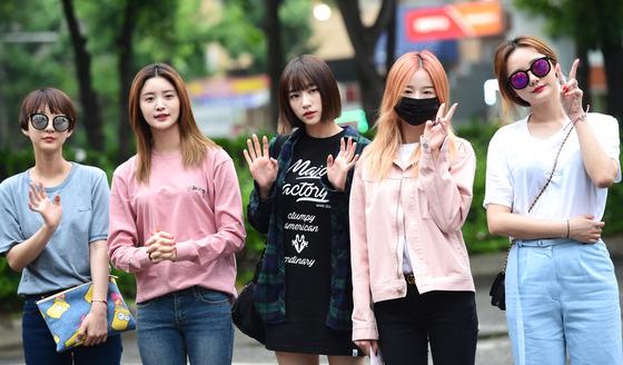 EXID, '뮤뱅' 출근합니다~