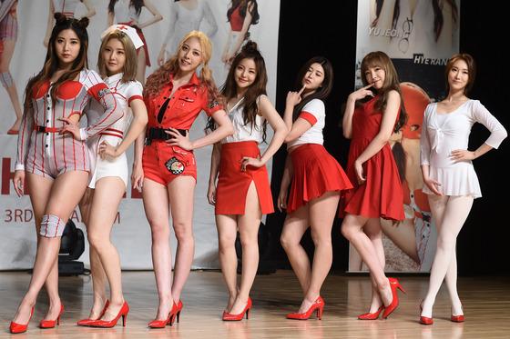 머슬걸→하이힐, 브레이브걸스의 섹시발랄 변신(종합)