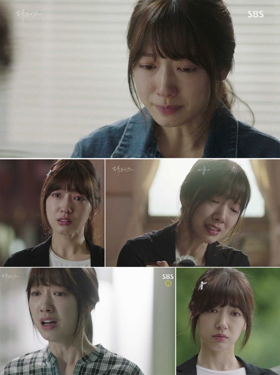 '닥터스' 박신혜, 함께 울게 만드는 눈물 연기