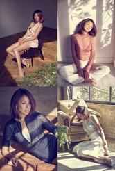 야노시호, 란제리 화보 공개 '이것이 모델 몸매'