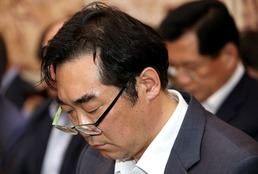 국회에 불려나온 '막말' 나향욱...'죽을죄를 지었다'