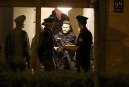 총기난사 현장을 수색하는 獨대테러경찰