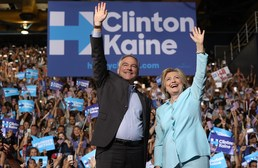 클린턴, 美 민주 대선후보 선출…첫 여성 후보
