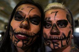 브라질 타투 위크…'무섭지?'