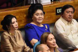 필리핀 의회 찾은 이멜다