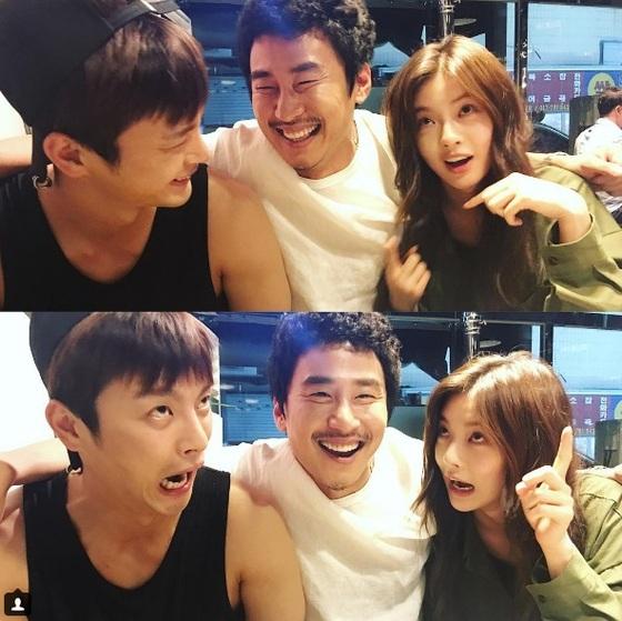 이선빈, 서인국·허재호와 엽기 표정
