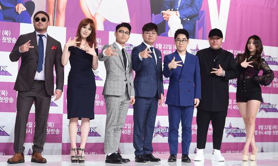 '슈퍼스타K 2016' 심사위원 군단