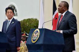 일-케냐 정상, 회담 뒤 기자회견