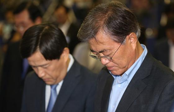 더민주 전당대회 찾은 문재인