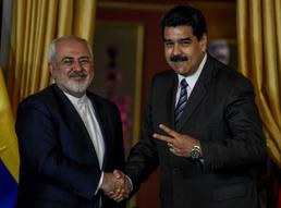 이란 외무장관, 베네수엘 방문
