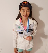 김자인, 리드 5차 월드컵 은메달…시즌 최고 성적