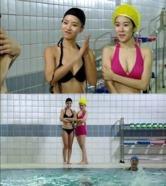 유인나, 황정음과 수영장 비키니 몸매 대결 '승자는?'