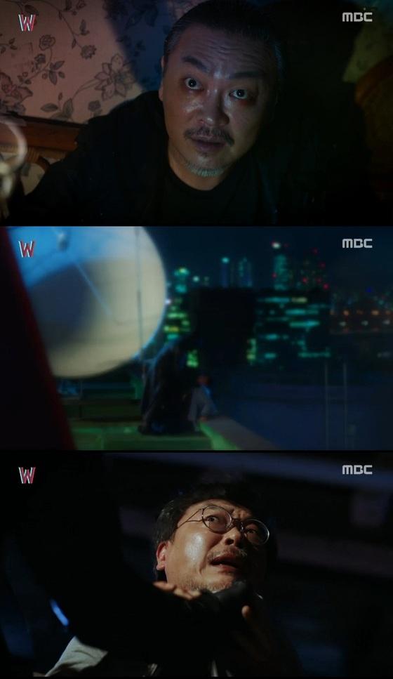 'W' 김의성, 눈빛만 봐도 소름 돋는 연기甲 배우