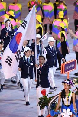 리우올림픽 화려한 개막