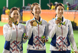 여자양궁 올림픽 8연패 위업