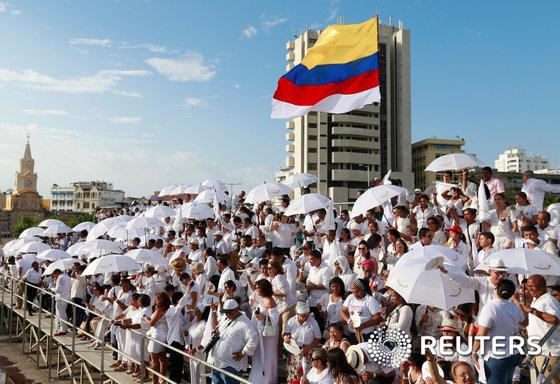 """콜롬비아 """"내전 끝, 평화가 왔다"""""""