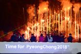 'G-500, 이제는 평창' 평창올림픽 한강서 성공기원