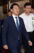 법원 출석하는 김형준 부장검사