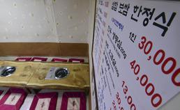 김영란법 첫날, 고급식당 직격탄 · 호텔은 안도