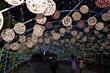 원주 한지문화제 '지끈등 터널'