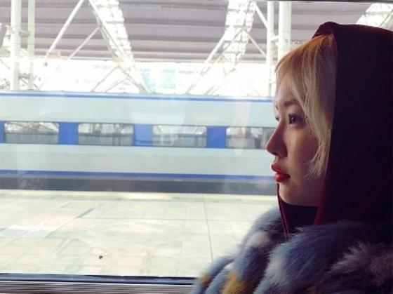 김새롬, 이혼 소식 후 근황 공개