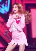 소나무 수민, '핑크빛 공연~'