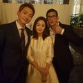 박준형, 비 김태희 결혼식 사진 공개 '이젠 부부로서 함께'