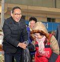 홍윤식 장관, 설맞이 전통시장 현장방문