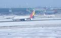 눈 쌓인 인천공항