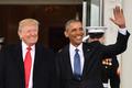 [사진] 미국의 제 44대, 45대 대통령