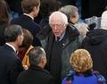 [사진] 트럼프 취임식 찾은 버니 샌더스