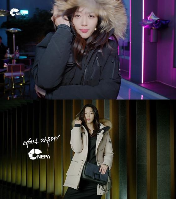 전지현, NEW 패딩 광고 공개 '넘사벽 비주얼'