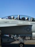 출격 대기하는 F/A-18E